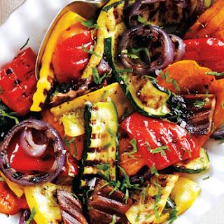 Grilled Balsamic Vegetables.