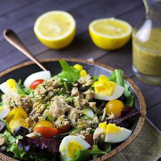 Chopped Nicoise Salad