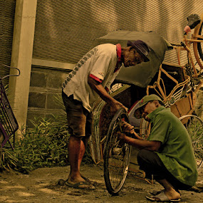 Solidarity by Harry Suryo - Transportation Bicycles