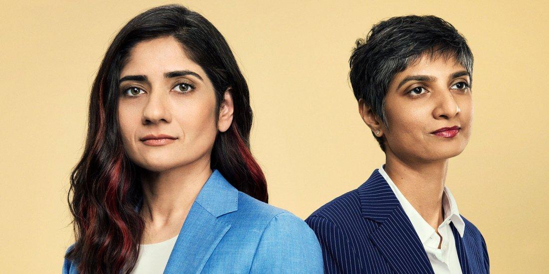 Lawyers Arundhati Katju and Menaka Guruswamy