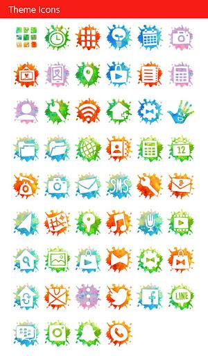Holi Theme Colorful Hand 1.0.0 Windows u7528 4