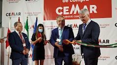 Inauguración  del Parque Empresarial Cemar en Huércal de Almería el 3 de julio pasado.