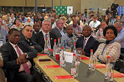Government officials, members of AgriSA and the Landbouweekblad at the land reform summit at Zwartkloof Game Reserve in Bela Bela, Limpopo on August 23 2018.