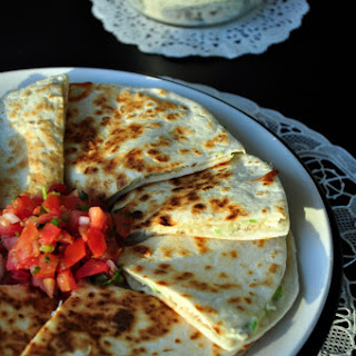 TUNA SALAD QUESADILLAS