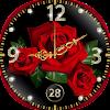 Fond d'Écran Horloge Rose Temps Réel APK