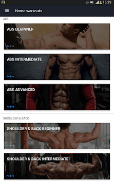 Home Workout - No Equipment APK screenshot thumbnail 16