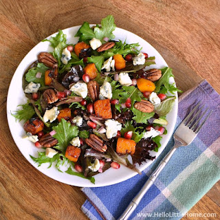 Roasted Butternut Squash and Gorgonzola Salad Recipe
