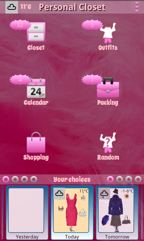 Personal Closet- screenshot