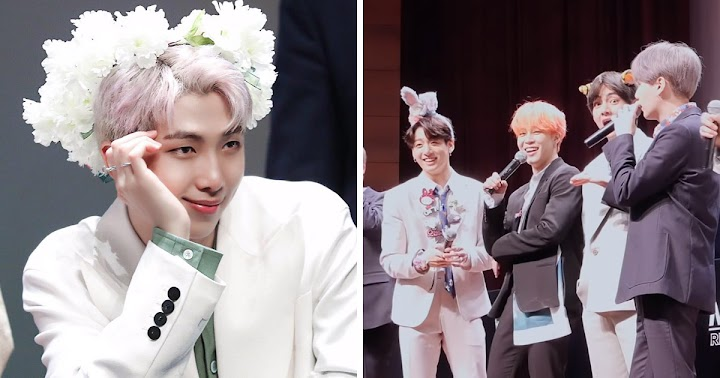 A Fan Scolded RM At A Fansign And BTS's Reactions Were Priceless