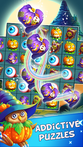 Halloween Witch - Fruit Puzzle 1.0.20 screenshots 4