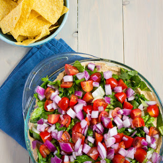 Mexican Layer Dip.