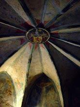 Photo: Gewölbe in der Kapelle der Marksburg © Wikipedia CC Lizenz