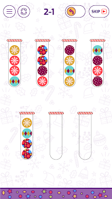 Bubble Sort Color Puzzle Gameのおすすめ画像2