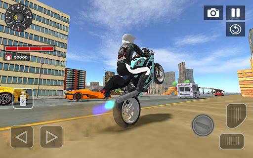 Sports bike simulator Drift 3D apkpoly screenshots 9