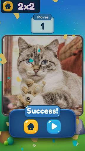 Slide ® - SlidePuzzle about dog, cat, cactus... screenshot 4