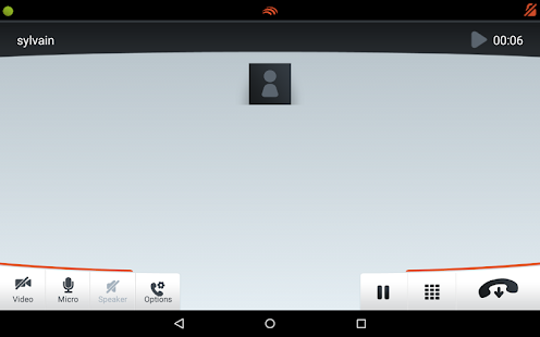 Linphone Video- screenshot thumbnail