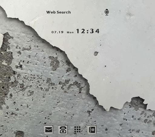 Concrete Wall +HOME Theme 1.0.0 Windows u7528 1
