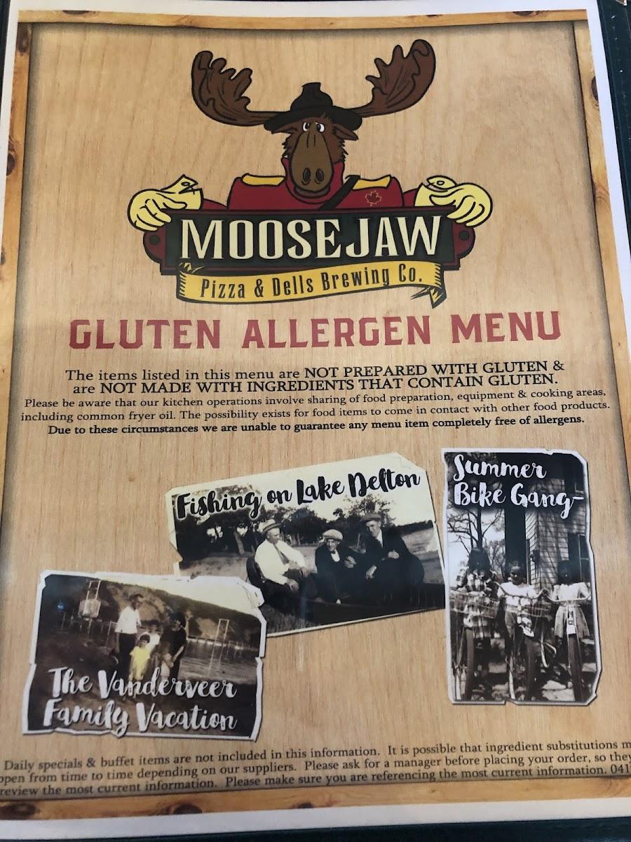 Moosejaw Wisconsin Dells Menu : moosejaw, wisconsin, dells, Allergen, Photo, Moosejaw, Pizza, Dells, Brewing