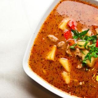 Your Favorite Goulash Recipe In A Crockpot.
