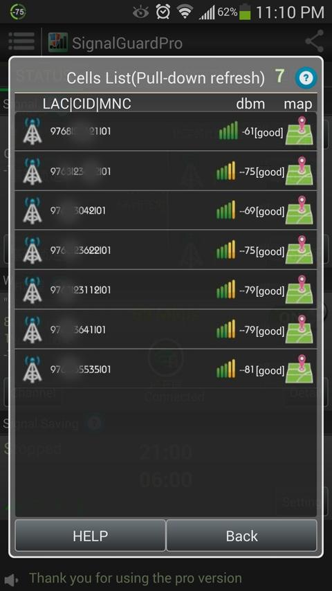 Signal Guard Free- screenshot