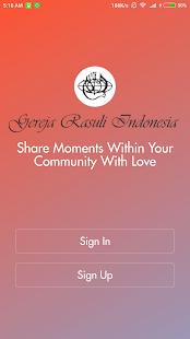 Gereja Rasuli Indonesia - náhled
