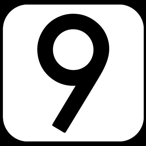 Miui 9 Dark White Amoled UI - Icon Pack
