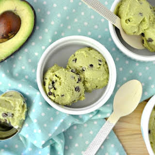 Dairy Free Avocado Ice Cream.