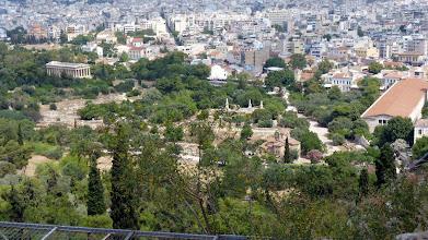 Photo: Agora from Acropolis