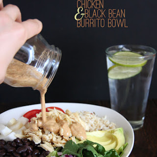 Chicken & Black Bean Burrito Bowls