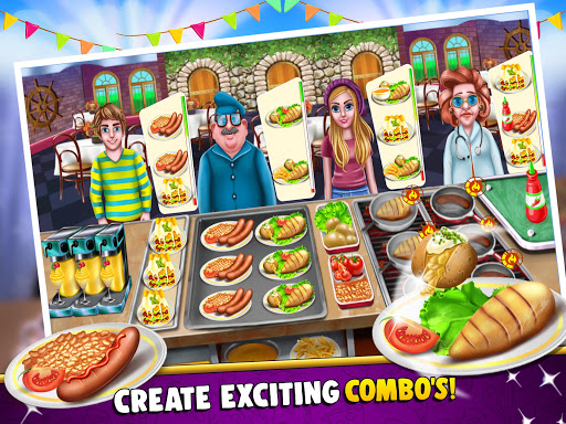 Cooking Story Crazy Kitchen Chef Cooking Games - screenshot