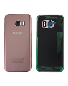 Galaxy S7 Back Cover Pink/Gold