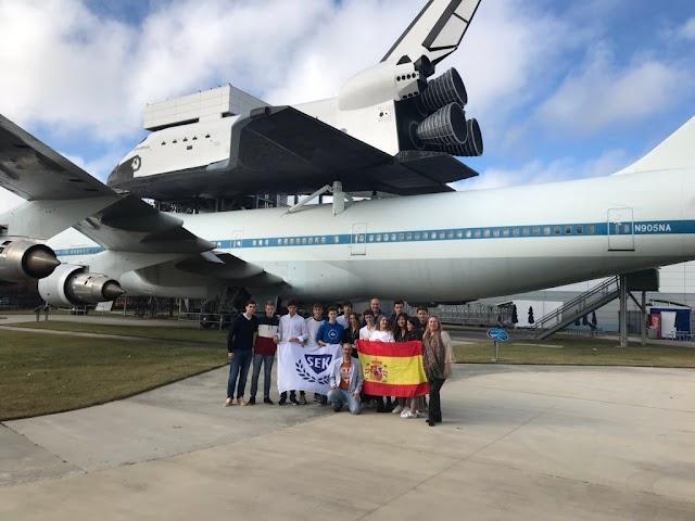 El equipo español, al completo