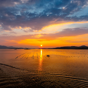 Sunset view at Yanzhou Island, Huidong, China by Stanley Loong - Landscapes Waterscapes ( , #GARYFONGDRAMATICLIGHT, #WTFBOBDAVIS )