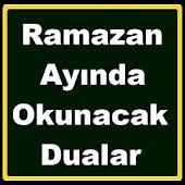 Ramazan Duaları Oruç İftar
