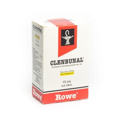 Clenbuterol Clenbunal Gotas 0,014mg/mL x 15ml
