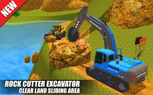 Heavy Excavator Crane: Construction City Truck 3D painmod.com screenshots 5