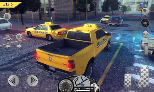 Real Taxi Sim 2018 3.1 screenshots 13