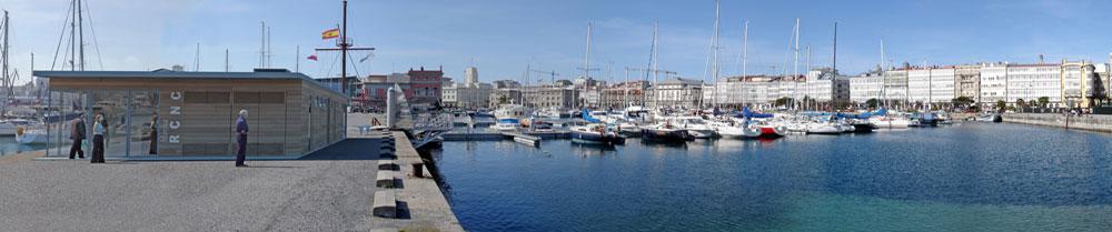 Photo: Panorámica de la Marina Real