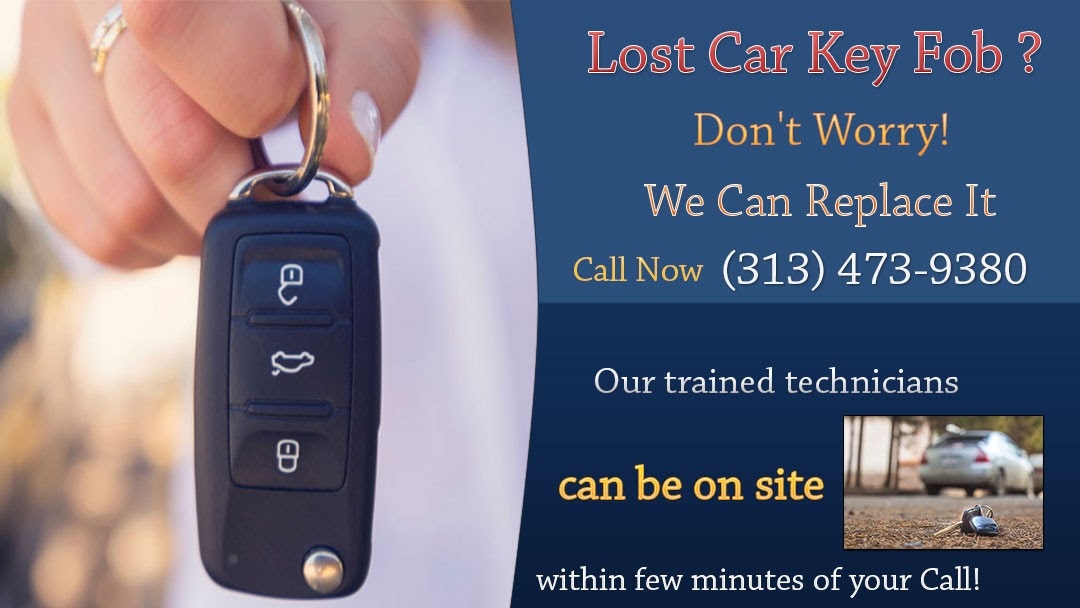 Car Key Fob Replacement Detroit MI - Locksmith In Detroit