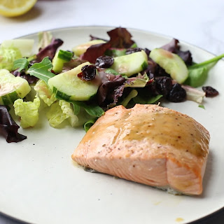 Maple Dijon Broiled Salmon Recipe