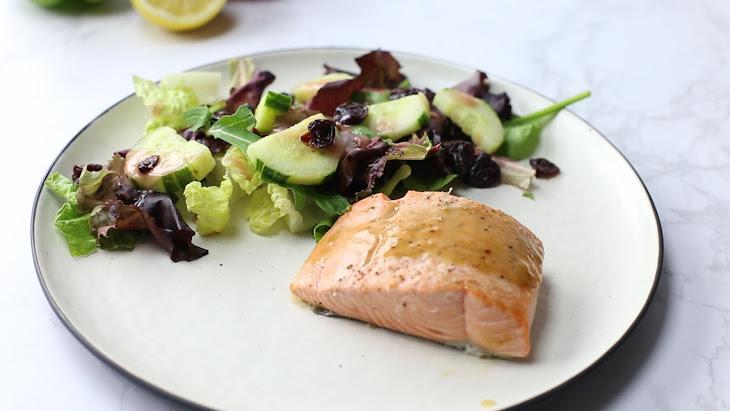 Maple Dijon Broiled Salmon