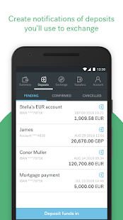 CurrencyFair Money Transfer- screenshot thumbnail