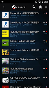 Audials Radio- screenshot thumbnail