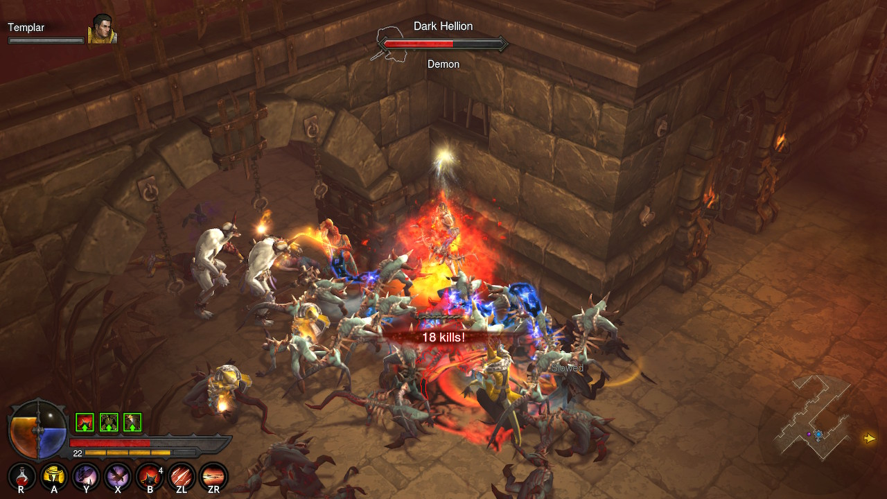 Diablo 3 Season 20 on Nintendo Switch