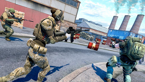 Commando Action : Team Battle - Free Shooting Game screenshots 2