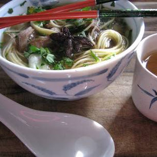 Heavenly Pork & Noodle Soup