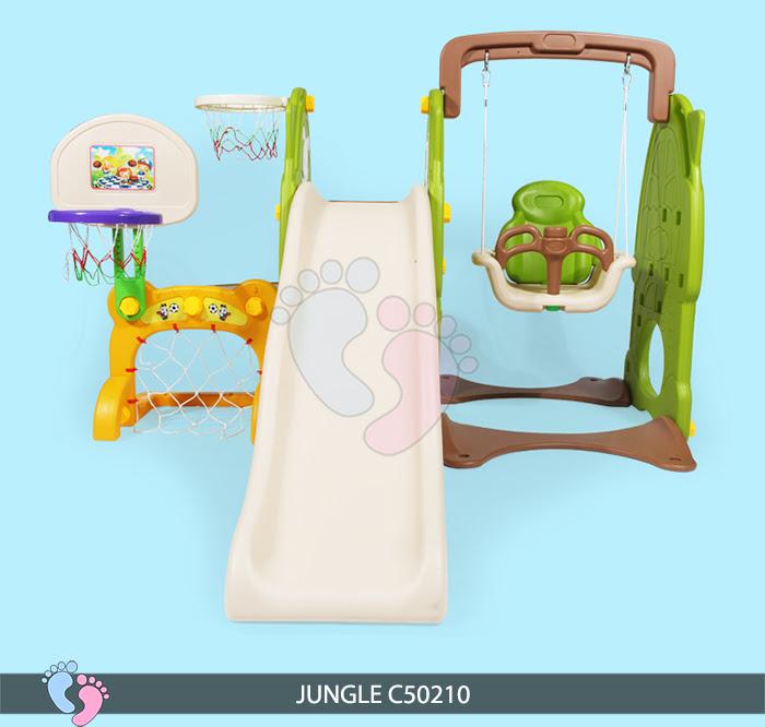Cầu trượt cho bé Jungle C50210 8