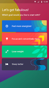Fabulous: Motivate Me! Meditation, Fitness, Sleep - náhled
