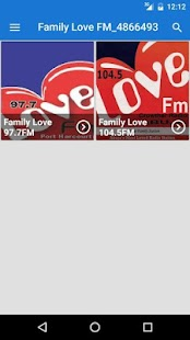 [Family Love FM] Screenshot 1