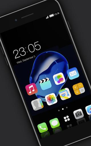 Stylish launcher theme for New iphone 7 2.1.7 screenshots 2